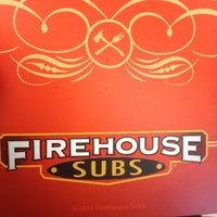 Photo taken at Firehouse Subs by Jenn C. on 7/1/2012