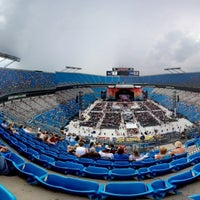 Photo taken at Bank of America Stadium by cayoyin on 6/24/2012