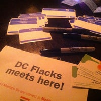 Photo taken at DC Flacks Meetup by Margie N. on 5/23/2011