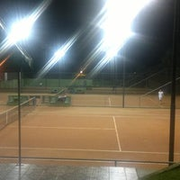 Photo taken at Academia de tenis Tenisport by Gustavo Luiz T. on 12/12/2011