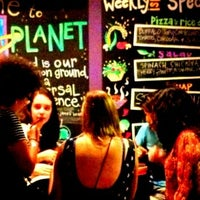 Photo taken at Veggie Planet by andres m. on 9/8/2012