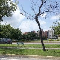Photo taken at Parque El Ejército by Rodolfo R. on 8/11/2012