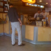 Photo taken at Which Wich? Superior Sandwiches by Daniel H. on 11/23/2011