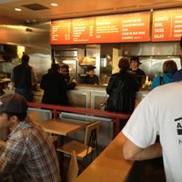 Photo taken at Chipotle Mexican Grill by Candice W. on 11/3/2011
