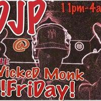 Photo taken at The Wicked Monk by DJ JOHN PAUL on 3/17/2012