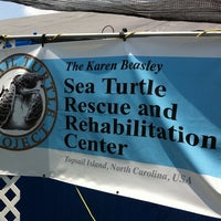 Photo taken at Karen Beasly Sea Turtle Rescue and Rehabilitation Center by Peter L. on 8/23/2011