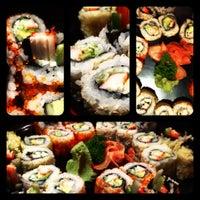 Photo taken at Sumo Sushi & Bento, Garhoud by Fadi N. on 7/17/2012