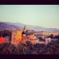 Photo taken at La Alhambra y el Generalife by Mustafa S. on 8/30/2012