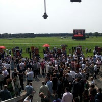 Photo taken at Haydock Park Racecourse by Jonathan W. on 8/11/2012