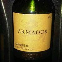 Photo taken at Cavas Wine Tasting Room by Lisa W. on 2/3/2012