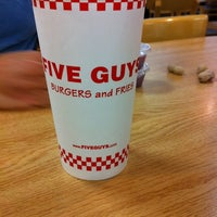 Photo taken at Five Guys by Valerie A. on 9/5/2011