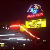 Photo taken at Dog n Suds Lafayette by Brendon C. on 8/14/2012