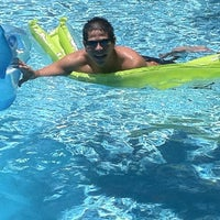 Photo taken at SBC2 Pool by Skinny Fiber h. on 5/7/2012