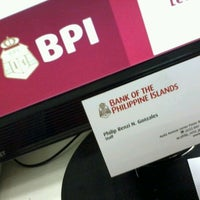 Photo taken at Bank of the Philippine Islands Head Office by Philip G. on 3/23/2012