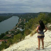 Photo taken at Covert Park at Mt. Bonnell by Liz P. on 11/3/2011