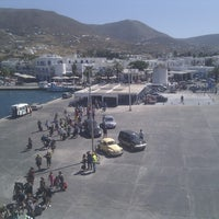 Photo taken at Port of Paros by Henning S. on 9/1/2012