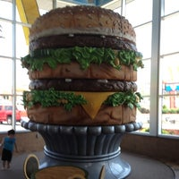 Photo taken at McDonald's (Big Mac Museum Restaurant) by Anthony C. on 7/6/2012