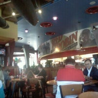 Photo taken at Red Robin Gourmet Burgers by Ashley M. on 10/28/2011
