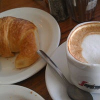 Photo taken at French Riviera Bakery & Cafe by Gagan S. on 12/28/2011