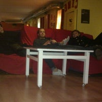 Photo taken at Feetup Yellow Nest Hostel Barcelona by Esn U. on 12/11/2011