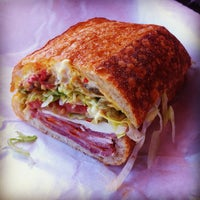 Photo taken at Bay Cities Italian Deli & Bakery by Allan B. on 6/27/2012