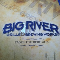 Photo taken at Big River Grille & Brewing Works by Tiffanie J. on 5/27/2012