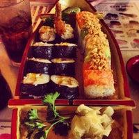 Photo taken at Fuji Sushi by Amy J. on 6/23/2012