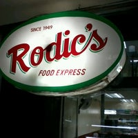 Photo taken at Rodic's Diner by Eliza T. on 3/4/2012