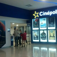 Photo taken at Cinépolis by jose luis m. on 8/11/2012