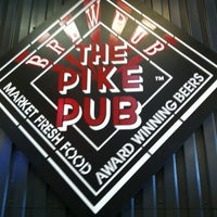 Photo taken at Pike Brewing Company by David M. on 8/19/2012