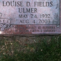 Photo taken at Oak Woods Cemetery by Aughty V. on 6/23/2012