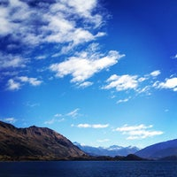 Photo taken at Lake Wanaka by Marc L. on 5/31/2012
