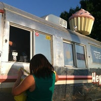 Photo taken at Hey Cupcake! by Leslie O. on 6/10/2012