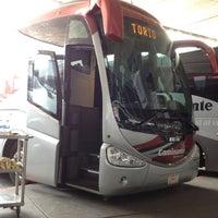 Photo taken at Terminal Central de Autobuses del Poniente by Enrique G. on 4/15/2012