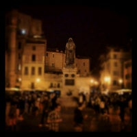 Photo taken at Campo de' Fiori by Federico B. on 5/11/2012