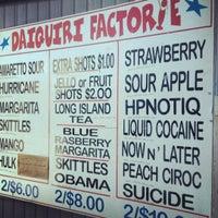 Photo taken at Corner Daiquri Factorie by Dens on 5/20/2012