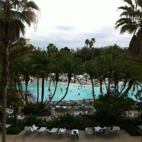 Photo taken at Hard Rock Hotel Beach Pool by Brent S. on 2/22/2012