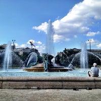 Photo taken at Logan Square by Amanda S. on 7/31/2012