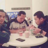 Photo taken at Caffe d'library @ UTHM by han t. on 2/22/2012