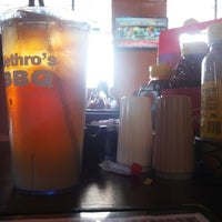 Photo taken at Jethros BBQ and Jambalaya by Russ G. on 6/17/2012