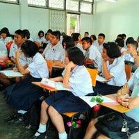 Photo taken at Ayutthaya Witthayalai School by Tho on 2/14/2012