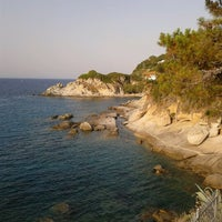 Photo taken at Spiaggia del Cotoncello by Carlo M. on 7/1/2012