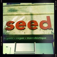 Photo taken at Seed Kitchen by Perlorian B. on 3/18/2011