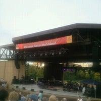 Photo taken at Mud Island Amphitheatre by Drew F. on 7/16/2012