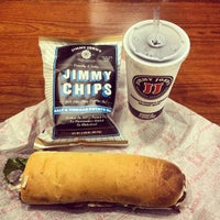Photo taken at Jimmy John's by Christopher L. on 9/11/2012