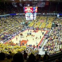 Photo taken at James H. Hilton Coliseum by Kevin H. on 1/28/2012