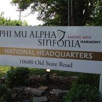 Photo taken at Phi Mu Alpha Sinfonia NHQ by Bob R. on 5/27/2012