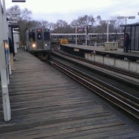 Photo taken at CTA - Sheridan by Jason T. on 12/27/2011