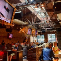Photo taken at Rockit Bar and Grill by Darren C. on 7/8/2012