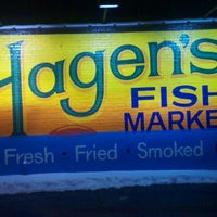 Photo taken at Hagen's Fish Market by Tony A. on 1/23/2012